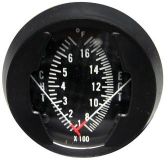 westach dual egt cht gauge with senders  westach oil pressure gauge k2a8mm