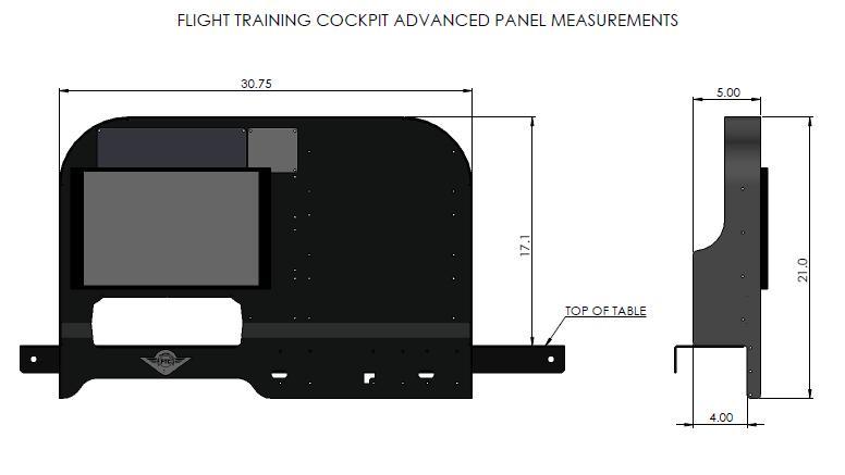 Flight Training Cockpit Advanced Panel From Pilotshop Com